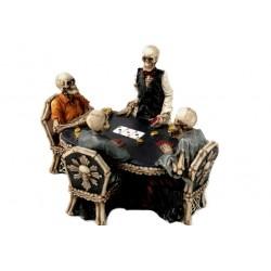 Teschi al tavolo di poker
