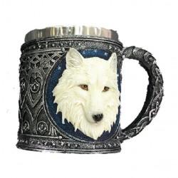 Boccale grande con lupo