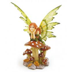 Fata seduta sul fungo Les...