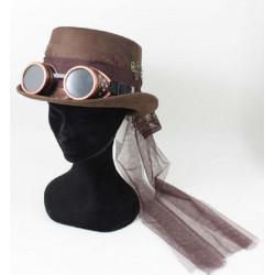 Capello Steampunk marrone...