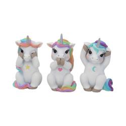 Tris di unicorni non...