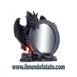 Dragon con specchio ovale